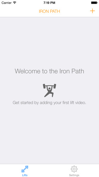 Iron Path | A bar path tracing app for iPhone and iPad